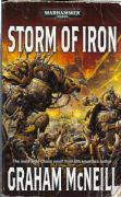 Storm of Iron by Graham McNeill Warhammer 40,000 book paperback 40k (reprint)
